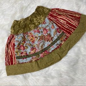 Matilda Jane Apron Skirt, Sz 6